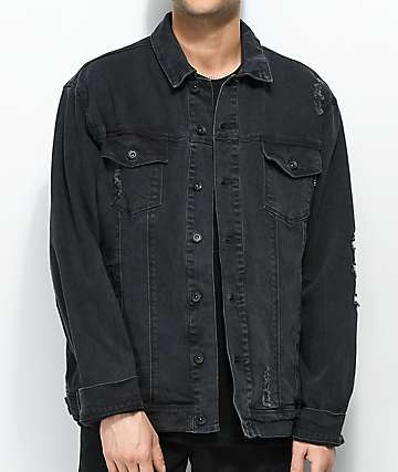 Empyre Ticket Black Denim Jacket