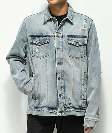Empyre Ticket Light Blue Denim Jacket