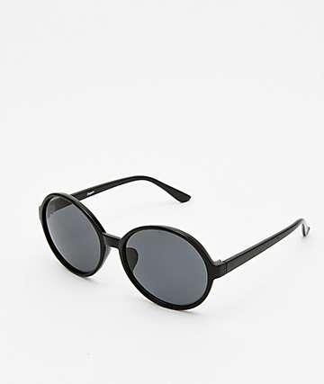 Empyre Toranto Black Round Sunglasses