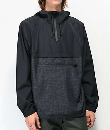 Empyre Transparent Black Anorak Jacket