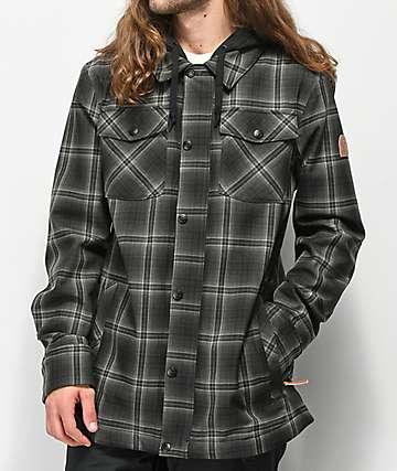 Empyre Traversed 10K chaqueta de snowboard de tartán gris