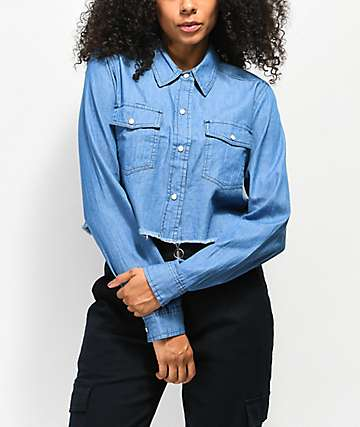Empyre Tularosa Chambray Button Up Shirt