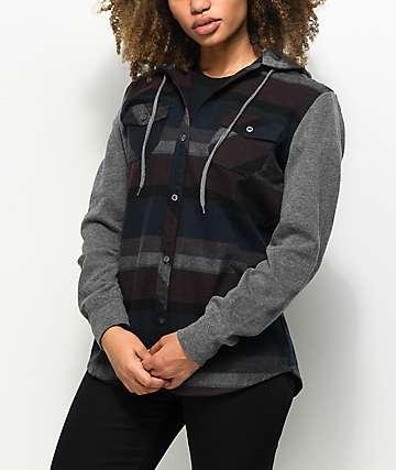 Empyre Vera Multi Striped Button Up Shirt