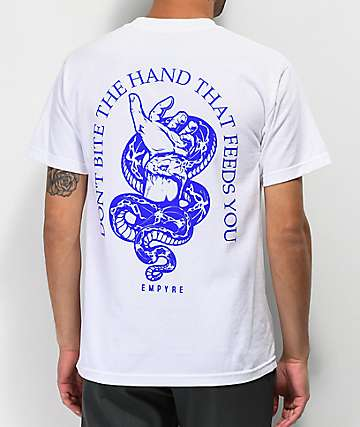Empyre Vermin Hands White T-Shirt