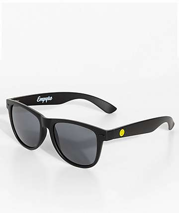 Empyre Vice Smile Face Black Matte Sunglasses