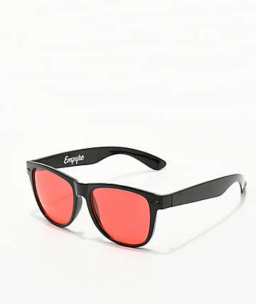 Empyre Vice Translucent & Red Sunglasses