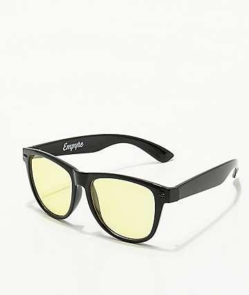 Empyre Vice gafas de sol en negro y amarillo