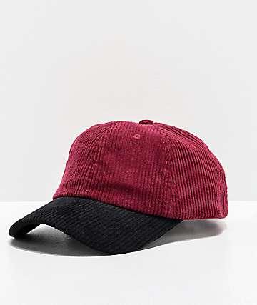 Empyre Vino Maroon Strapback Hat