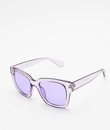 Empyre Viole gafas de sol transparentes en morado