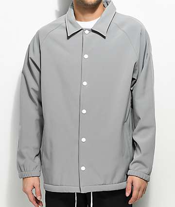 Empyre Walsh Light Grey Tech Fleece Coaches Jacket