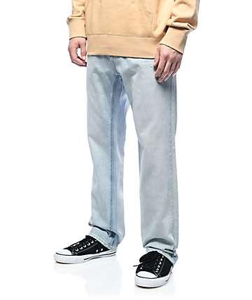 Empyre Warehouse jeans relajados en lavado claro