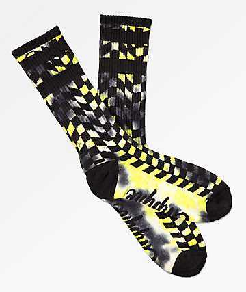Empyre Washy Checker Crew Socks