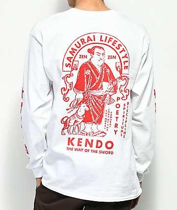 Empyre Way Of The Sword camiseta blanca de manga larga