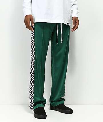 Empyre Way pantalones de chándal verdes y de cuadros