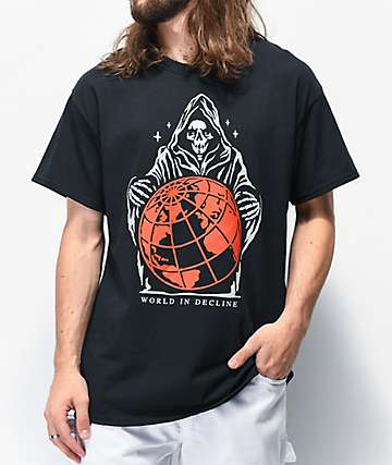 Empyre World In Decline Black T-Shirt