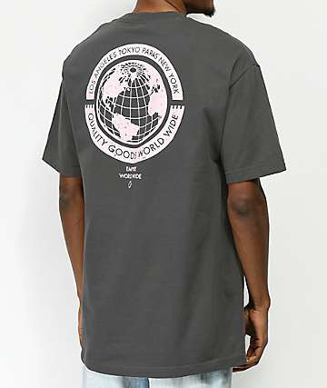 Empyre Worldwide Washed Black T-Shirt