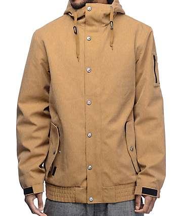 Empyre Yard Sale chaqueta de snowboard 10K en caqui