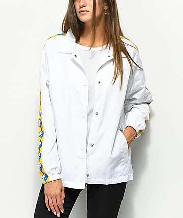 Empyre Yin Yang chaqueta entrenador blanca