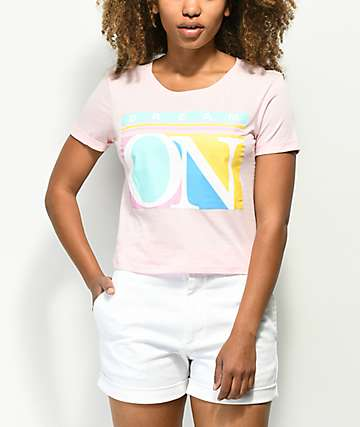 Empyre Yohanna Dream On camiseta rosa