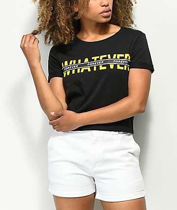 Empyre Yohanna Whatever Forever Black T-Shirt