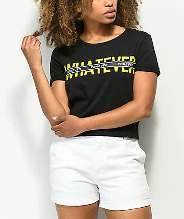 Empyre Yohanna Whatever Forever Black T-Shirt