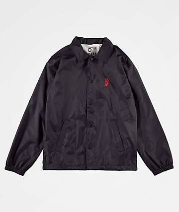 Empyre Youth Rose Black Coaches Jacket