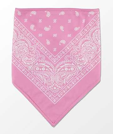 Empyre bandana de cachemir rosa