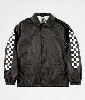 Empyre chaqueta entrenador en negro para niños