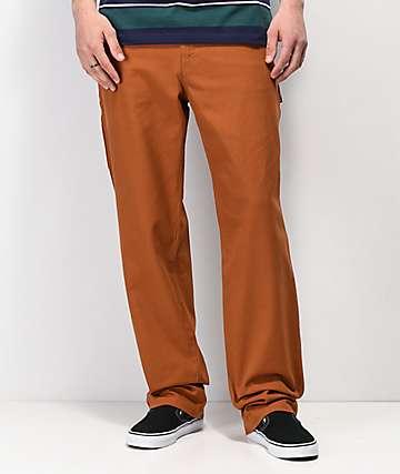 Empyre jeans estilo carpintero de color moca