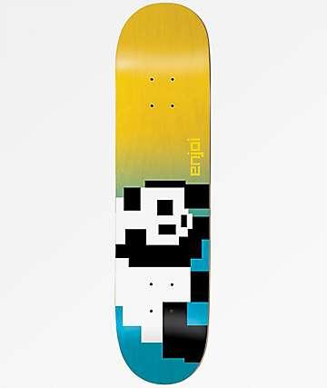 "Enjoi 8 Bit Panda 8.37"" Skateboard Deck"