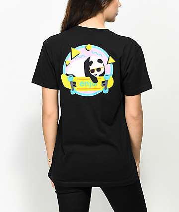 Enjoi 80's Panda Black T-Shirt