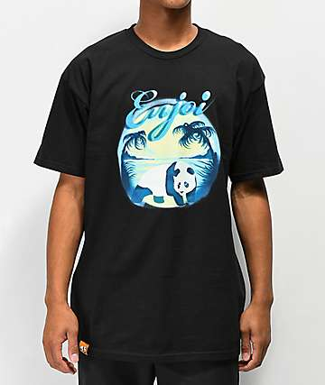 Enjoi Airbrush Black T-Shirt