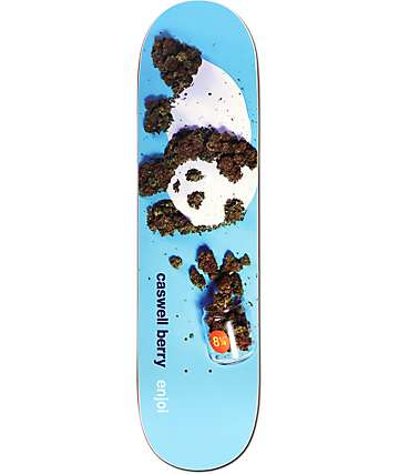 "Enjoi Berry Premium Panda 8.25"" Skateboard Deck"
