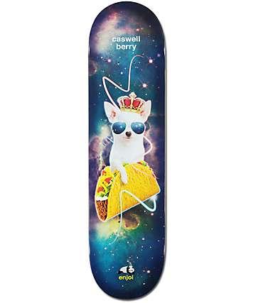 """Enjoi Berry Snack Surfers Impact 8.0"""" Skateboard Deck"""