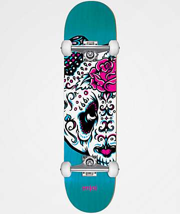 "Enjoi Big Head Quinceanera 7.25"" Skateboard Complete"