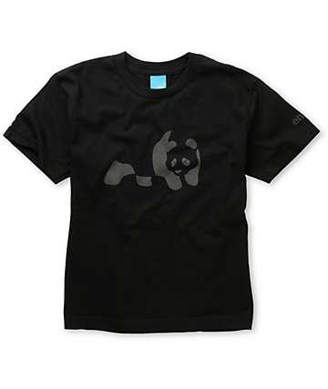 Enjoi Boys Black & Charcoal Panda T-Shirt