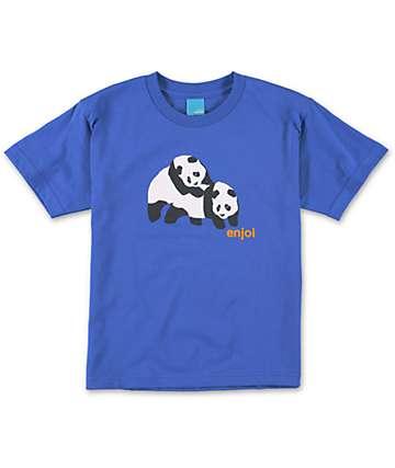 Enjoi Boys Piggyback Blue T-Shirt