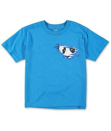 Enjoi Boys Shredder Turquoise T-Shirt