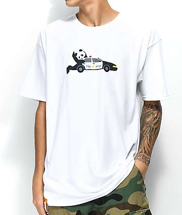 Enjoi FTP Panda White T-Shirt