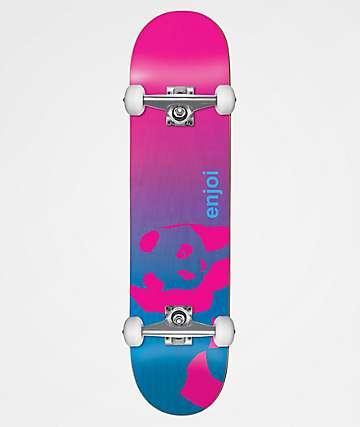 "Enjoi Faded Panda Resin 7.75"" Skateboard Complete"