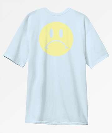 Enjoi Frowny Face Light Blue T-Shirt