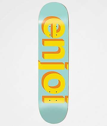 "Enjoi Helvetica Neue 7.75"" Skateboard Deck"