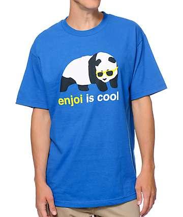 Enjoi Is Cool Royal Blue T-Shirt