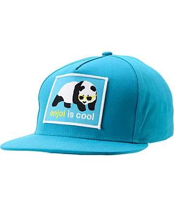 Enjoi Is Cool Turquoise Snapback Hat