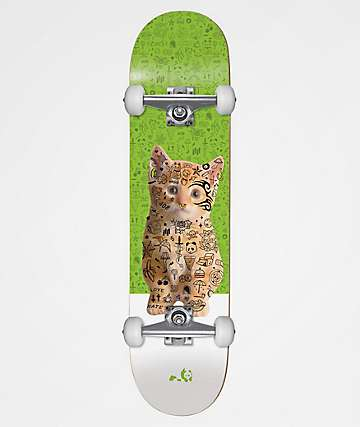 "Enjoi Kitten First Push 7.5"" Skateboard Complete"