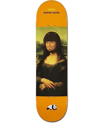 "Enjoi Mona Louie 8.0""  Skateboard Deck"