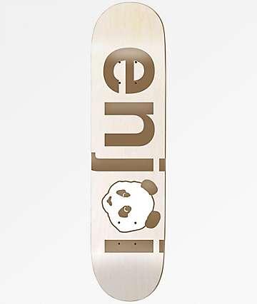 "Enjoi No Brainer 7.75"" Gold Skateboard Deck"