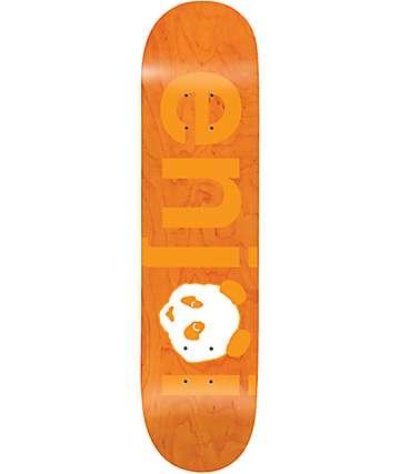 "Enjoi No Brainer Orange 7.75"" Skateboard Deck"