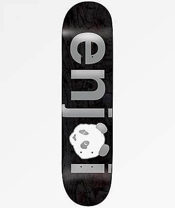 "Enjoi No Brainer Silver 8.0"" Skateboard Deck"