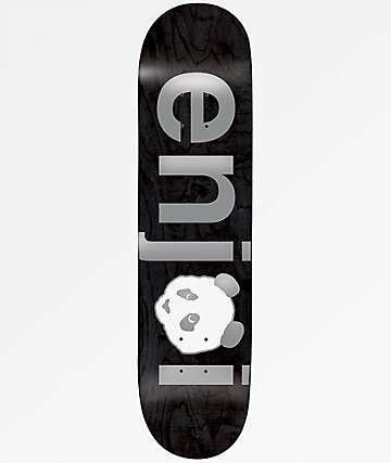 "Enjoi No Brainer Silver 8.0"" Skateboard Deck"